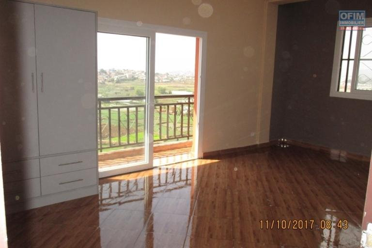 OFIM propose en location un appartement T3 neuf à Androndra