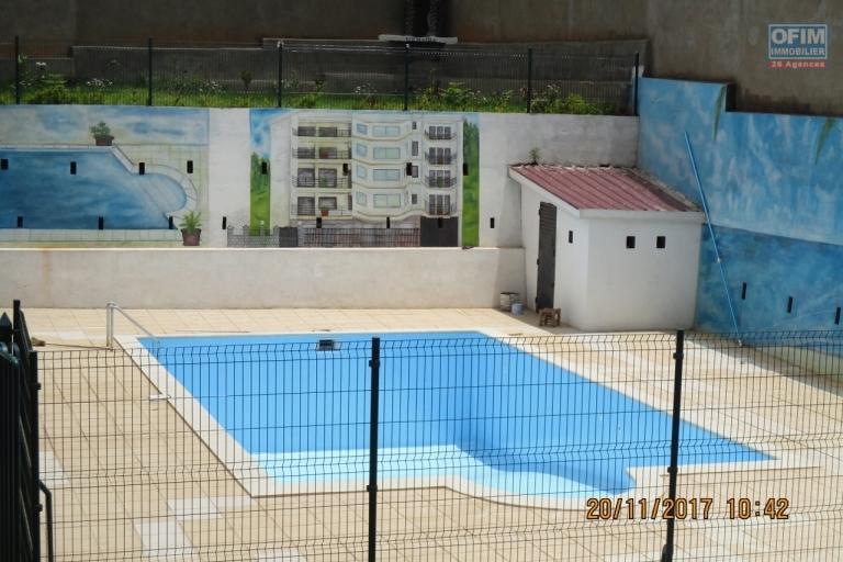OFIM propose en location des appertments neufs avec piscine à Ambohimahitsy