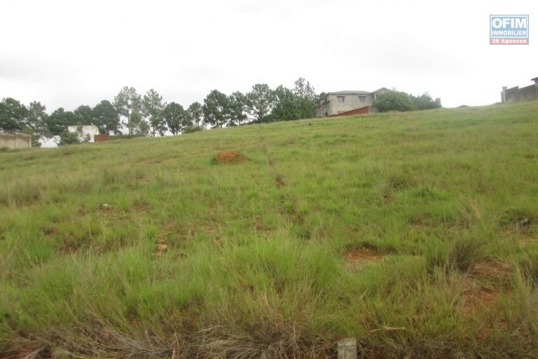 A vendre, plusieurs lots de terrains dans un lotissement à Antsampandrano - Ilafy