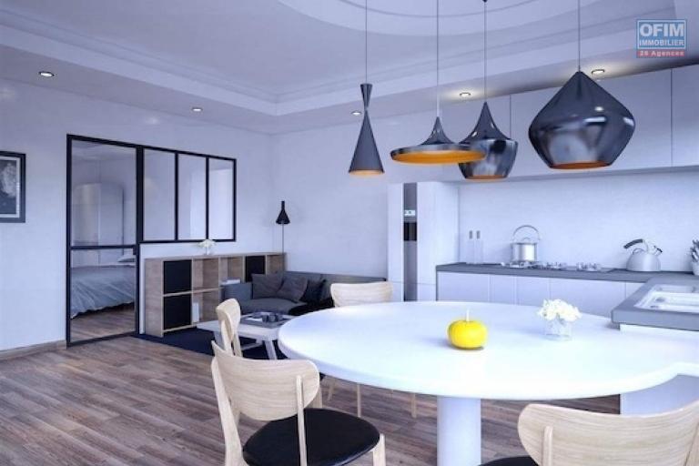 A vendre appartement T3  niché sur la haute ville avec une belle vue