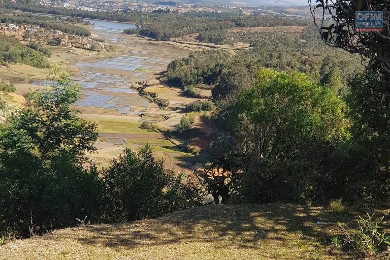 A vendre  très beau terrain de 14 000 m2 à Manjakandrina idéal  pour projet hotelier ou centre de loisir , attraction .