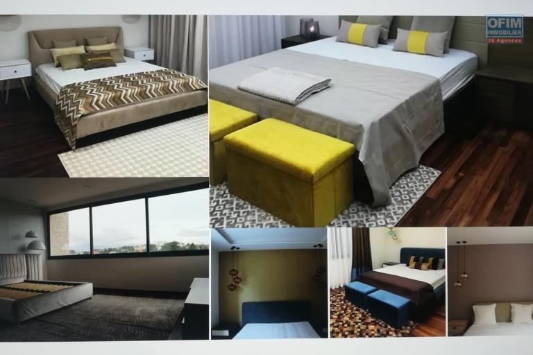 OFIM met en location des appartements T5 de standing fraîchement construits dans une résidence en quartier calme et sécurisé 24/24 avec une vue panoramique. - Meublé