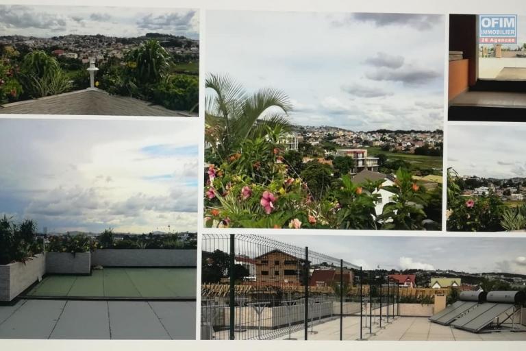 OFIM met en location des appartements T5 de standing fraîchement construits dans une résidence en quartier calme et sécurisé 24/24 avec une vue panoramique. - Terrasse ouverte