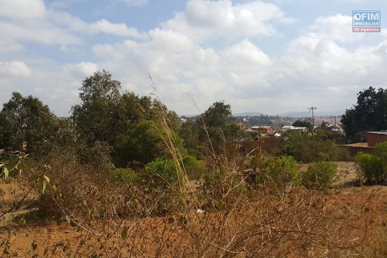 OFIM met  la vente un terrain de 3 800m2 à 11km de la ville à Antsampandrano Ilafy