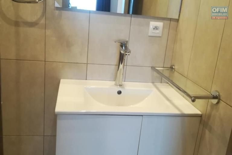 OFIM met à la location un appartement meublé en T2 dans une résidence au BDR d'Ivandry à 5min de la ville.