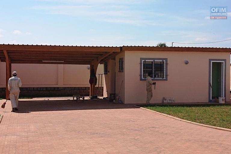 Une villa F5 dans une résidence sécurisée à Soavina Tanjombato