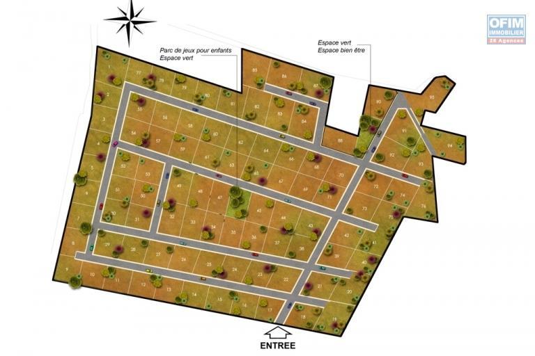 A vendre  terrain viabilisé et clôturé  de 430 m2 à ilafy