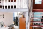 Un grand studio  avec mezzanine meublé électricité,  internet, ménage inclus à Ambohijatovo Antananarivo