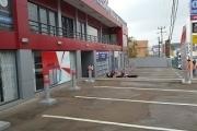 A louer un local de 337 m² au 1er niveau d'un immeuble fraîchement construit bord de route très fréquentée d'Ambohibao