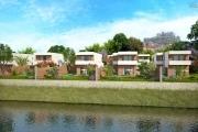 A vendre belle villa neuve F4 avec piscine et au bord du lac à Andranotapahana