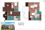 A vendre bel appartement T5 duplex neuf avec une très belle vue à Tsiadana proche du centre ville .