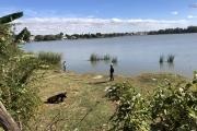 Terrain Pieds  dans l'eau sur Ambohibao 1400 m2 à vendre