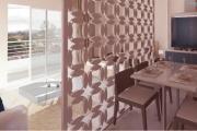 A vendre appartement  T2 neuf très moderne - living / cuisine