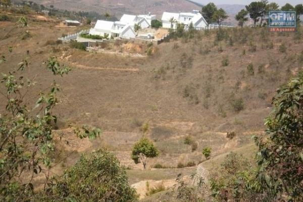 Vente terrain  clôturé de 1175M2 à Ambohibao Ambohijanahary