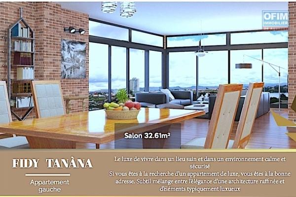 OFIM met vente un magnifique appartement neuf T4 / T3 au roof top dans une résidence sécurisé