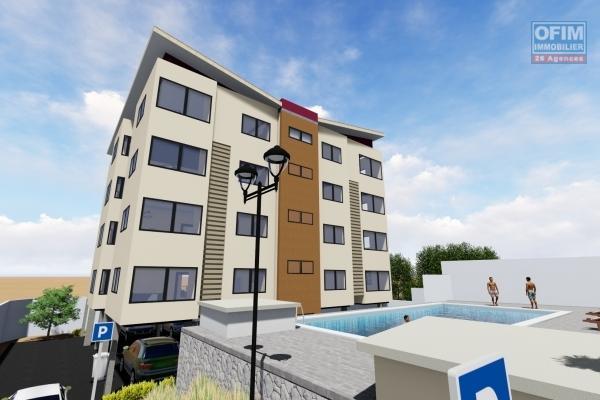 A vendre en exclusivité appartement T4 neuf de 142 à 157 M2 à Talatamaty avec piscine chauffée