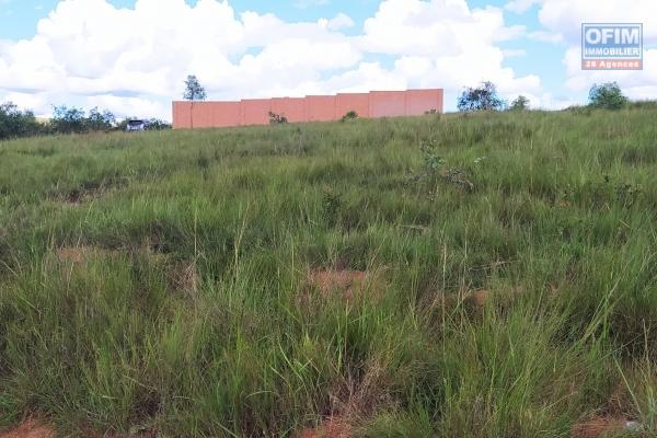 Terrain plat, prêt à bâtir de 1200 m2 à Manazary Ilafy- Antananarivo