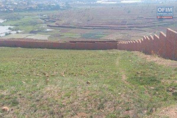 Terrain 2HA 13A 05 CA entièrement clôturé à Akarana Ambohimanambola- Antananarivo