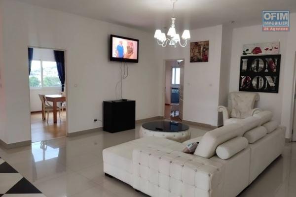 Occasion rare,OFIM met en location un appartement T5 meublé et équipé à Ankerana qui est à 5min d'Ankorondrano via la nouvelle Rocade