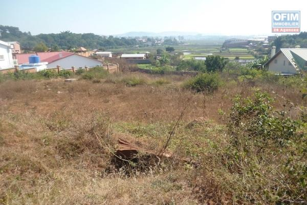 à vendre terrain de 550M2 à Andohalo (la Haute ville)