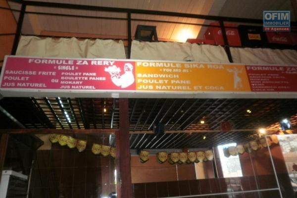 Fond de commerce à vendre dans le quartier des affaires, Ankorondrano.