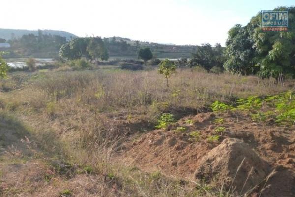 A vendre terrain de 5218 m2 prêt à bâtir à Ivato Ambatolampy Tsimahafotsy