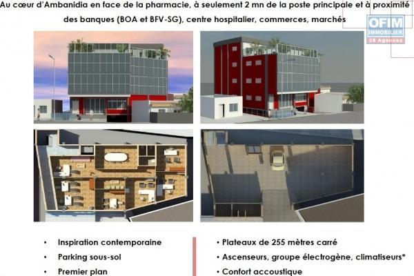 A vendre immeuble contenant 4 appartements à Ivato Mamory